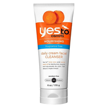 Carrots  Daily Cream Facial Cleanser by yes to