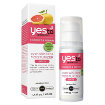 Grapefruit Even Skin Tone Moisturizer by yes to