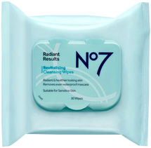 Radiant Results Revitalising Cleansing Wipes by no7