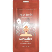 Professional Illuminating Citrus Surge Sheet Mask by que bella