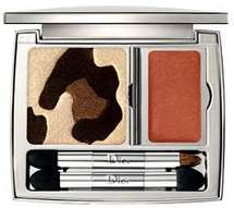 Golden Jungle Panther Eyeshadows & Lip Gloss - Golden Browns by Dior
