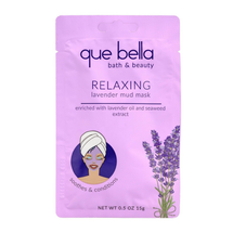 Relaxing Lavender Mud Face Mask by que bella