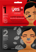 Tomatoes 2-Step Single Use Nose Kit Buh-Bye Blackheads by yes to
