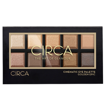 Cinematic Eye Palette - 03 Golden Epic by Circa Beauty