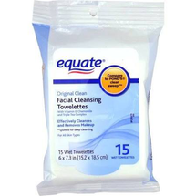 Original Clean Facial Cleansing Towelettes by equate