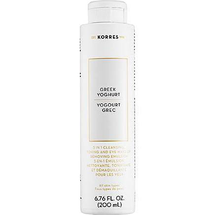 Greek Yoghurt 3 In 1 Cleansing, Toning and Eye Make-Up Removing Emulsion by Korres