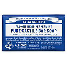 Bar Soap - Peppermint by dr bronners
