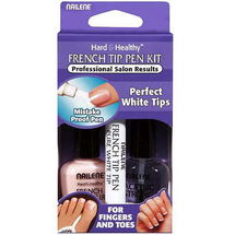 French Tip Pen Pearl White 61022 by nailene