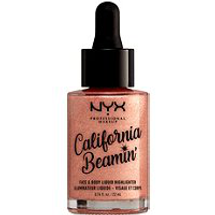 California Beamin Face Body Liquid Highlighter by NYX Professional Makeup