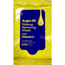 Argan Oil Makeup Removing Wipes With Vitamin C by Hanhoo