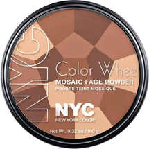 Color Wheel Mosaic Face Powder by NYC