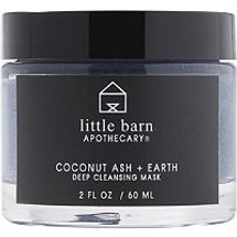 Coconut Ash Earth Deep Cleansing Mask by little barn apothecary