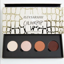 IluvSarahii x Colourpop Palette by Colourpop