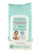 Make Up Removing Cleansing Wipes Retinol by precision