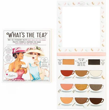 What's The Tea Hot Tea Eyeshadow Palette by theBalm
