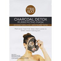 Charcoal Detox Rubberizing Mask by miss spa