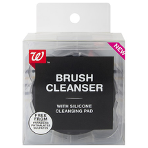 Brush Cleanser With Silicone Cleansing Pad by Walgreens Beauty