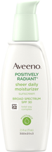 Positively Radiant Sheer Daily Moisturizer SPF 30 by Aveeno