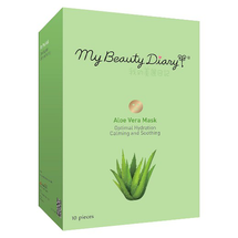 Calming Soothing Hydration Mask Aloe Vera by my beauty diary