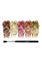 Champagne Eyeshadow 6-Piece Set by Blend Mineral Cosmetics