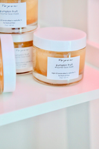 Pumpkin Fruit Exfoliating Enzyme Face Mask by Foxie Cosmetics