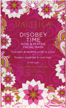 Disobey Time Rose & Peptide Facial Mask by pacifica