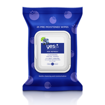 Blueberries Cleansing Facial Wipes by yes to