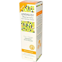 Radiant Skin Polish Chia + Omega Brightening by andalou naturals