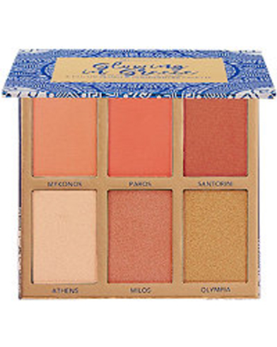 Glowing In Greece - 6 Color Blush & Highlighter Palette by BH Cosmetics #2