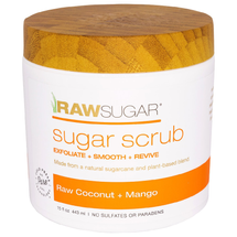 Raw Coconut And Mango Body Scrubs by raw sugar