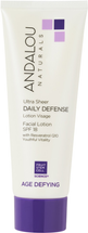 Daily Defense Facial Lotion with SPF 18 by andalou naturals