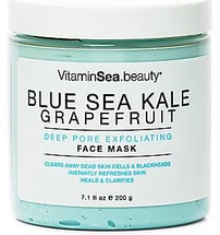 Deep Pore Exfoliating Face Mask by VitaminSea.beauty