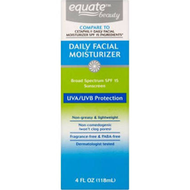 Beauty Daily Facial Moisturizer SPF 15 by equate