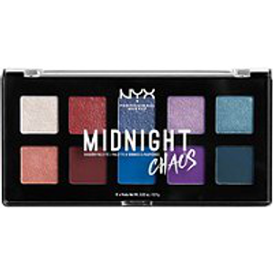 Midnight Chaos Shadow Palette by NYX Professional Makeup