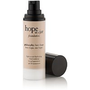Hope In A Jar Foundation Broad Spectrum by philosophy