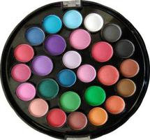 27 Colors Eyeshadow Palette  by miss rose