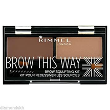 Brow This Way Brow Sculpting Kit - Blonde by Rimmel