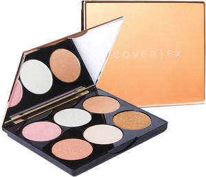 Perfect 6-Pan Highlighting Palette by Cover FX