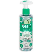 Cucumbers Calming Micellar Cleansing Water by yes to