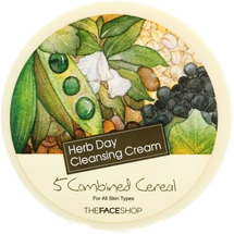 Herb Day Facial Cleansing Cream 5 Combined Cereal by The Face Shop