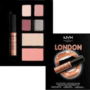 City Set Lip, Eye & Face Collection -  London by NYX Professional Makeup