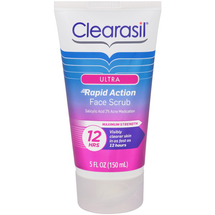 Ultra Rapid Action Face Scrub by clearasil