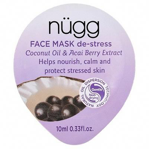 Stress Face Mask Coconut Oil Acai Berry Extract by nugg