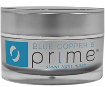 Blue Copper 5 PRIME Sleep Tight Mask by osmotics