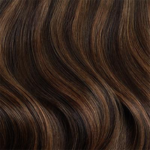 Sample Chestnut Brown Highlights by Luxy Hair