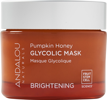 Brightening Pumpkin Honey Glycolic Mask by andalou naturals