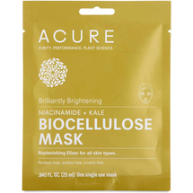 Brilliantly Brightening Biocellulose Gel Mask by acure organics