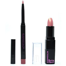 Lip Liner Hot Red Lipstick Red Makeup Combo by kleancolor