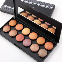 12 color Roasted Powder Eyeshadow 3D by miss rose