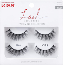 Lash Couture Faux Mink Muse Double Pack by kiss products